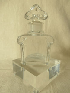 Baccarat crystal perfume bottle, designed for Guerlain