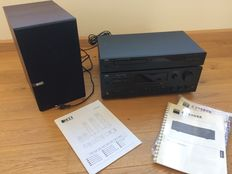 NAD stereo Receiver C725BEE+CD C515BEE with KEF Q300 Speakers