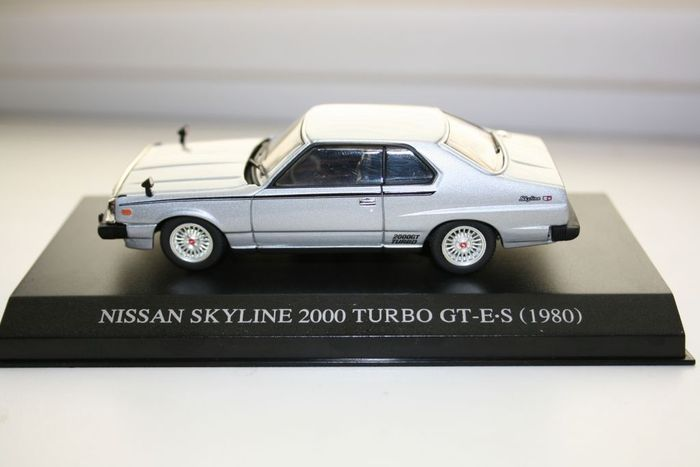 dism / minichamps - scale 1/43 - lot with 4 '80s models: lancia