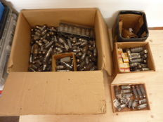 Lot of old radio tubes