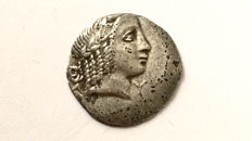 Greek Antiquity - Lycia Lycian League, ca 48-23 BC. Kragos (BC 30-27) Hemidrachm / Apollo / Lyre