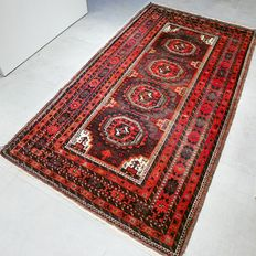 Very rare Turkmen rug – 204 x 111 – Collector's item