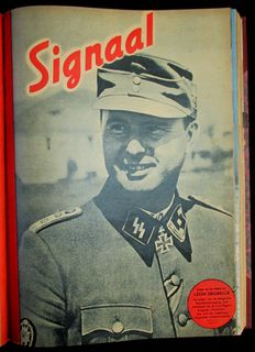 Magazines; Signaal/Signal - binding containing 12 Dutch issues - 1944