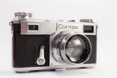 Contax II with Sonnar 5 cm f/1.5