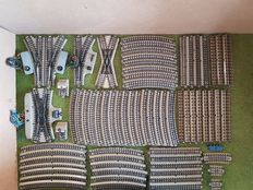 Märklin H0 - 69-piece package with a series of  3600 M-rails