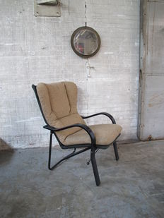 Unknown designer, organically designed lounge armchair in Scandinavian style