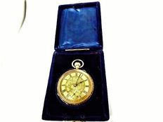 swiss lever high grade movement pocket watch circa 1890