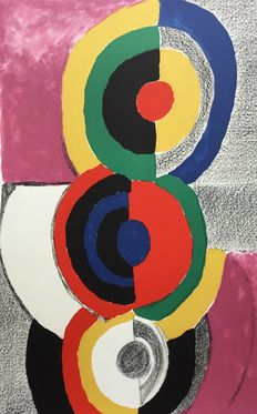 Sonia Delaunay (after) - Composition