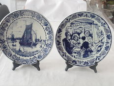 "Original Delft blue - Hand work ""Chemkefa"", Made in Holland."