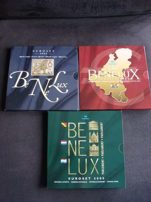 Benelux, Benelux sets 2003, 2004 and 2005