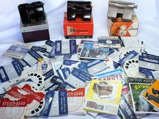 Large lot View-Master from the fifties and sixties