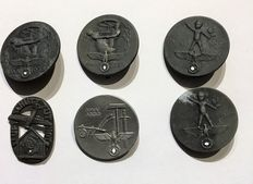 """German Reich """"8 badges and medals, 1933 to 1939"""""""
