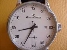 Meistersinger Scrypto men's watch - year 2015