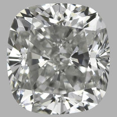 0.50ct Cushion Modified   Brilliant Diamond H VS2  IGI  -Original Image-10X - Serial# 1726