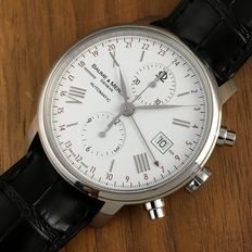 Baume & Mercier — Baume & Mercier Chronograph GMT XXL Automatic - Men´s Watch - 2015 — Hombre — 2011 - actualidad