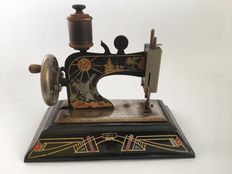 Art Deco style Casige children's toy sewing machine, Germany, ca 1935