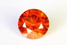 Red diamond – 0.47 ct – No reserve