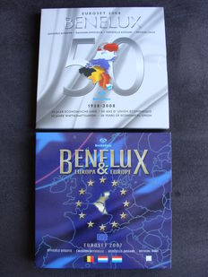 Benelux – Benelux sets 2007 and 2008 (48 coins).
