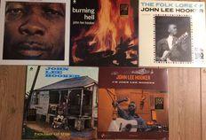 John Lee Hooker collection || 5 LP's || Limited editions  || Collectors' editions || Still in sealing || Official releases