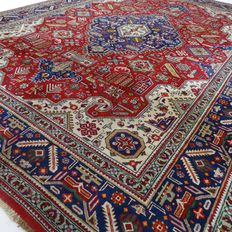 "Ardabil – 349 x 245 cm. – ""XL-Persian carpet in beautiful condition"" – With certificate"