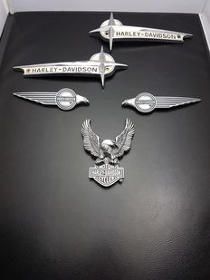 Harley Davidson - emblems - USA - 20th century