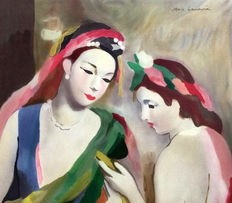 Marie Laurencin (after) - Les 2 amies