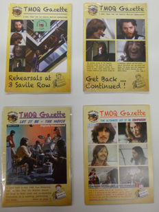 """The Beatles:  """"get back collection"""" , two cd and two dvd collections"""