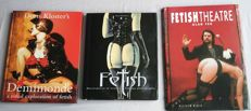 Photography; Lot with 3 fetish photo books - 1999/2002