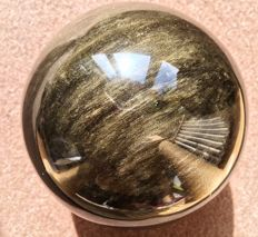 Top quality, luminescent Gold Obsidian - 13cm - 1867gm