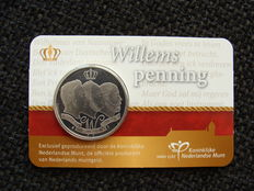 "The Netherlands – Medal 2013, ""Willemspenning"" in coin card – packaged the wrong way around"