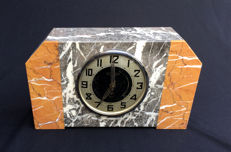 Art deco style clock, approx. 1930