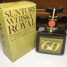 1970s Suntory Royal Blended Japanese Whisky (720ml) Vintage Collections