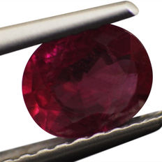 Ruby - 0.70ct - No Reserve