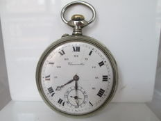 Chronometre. Silver-coloured metal. Lepine. Remontoire. 1st half of the 20th century.