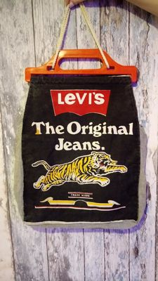 LEVI'S Vintage Bag with Smokie Band advertisement - Unique and Rare 1970s