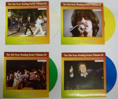 Limited Edition :4 Colored vinyl Singles Set
