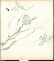 Shikishi painting - Japan - 1930-1940 (Early Shōwa period)
