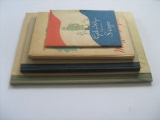 Caricature; Lot with 4 satirical publications - 1945/1946
