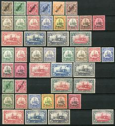 German Colonies 1900/1916 - A Small collection