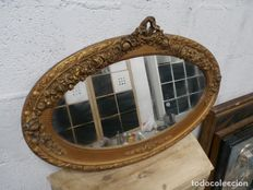 Roccoco mirror frame, 20th century.