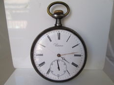 Verina pocket watch. Iron. Lepine. Remontoire. 1st half of the 20th century.