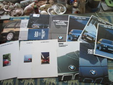 Car brochures (BMW, including 3/5/7-series, 1981-1995)