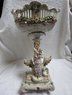 Porcelain Piece de Milieu German ca. 1870