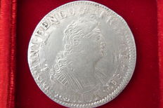"France – Louis XIV (1643-1715) – 1/2 Ecu with 8 L 1704 ""Réformation"" – Silver"