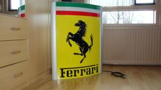 Ferrari Lichtreclame - Illuminated sign - 85 x 65 x 10 cm