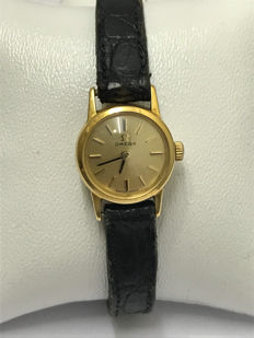 Omega ladies' gold watch