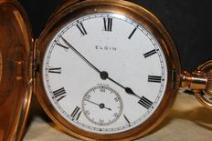 Elgin – extremely fine gold laminated timepiece – 1923