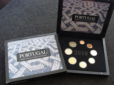 Portugal – year set (Proof) 2010