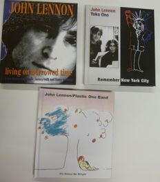 """John Lennon: """" rarities collection"""": A nice set of three double cds in a Deluxe Hard Cover Edition."""
