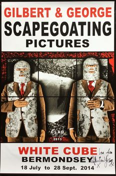 Gilbert & George - Scapegoating, White Cube